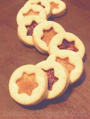 hekvanc: Szellem keksz tészta = pihe-puha linzer