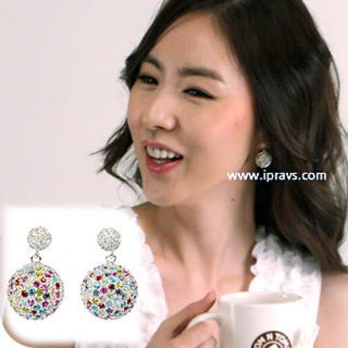 Jeweled Ball Earrings