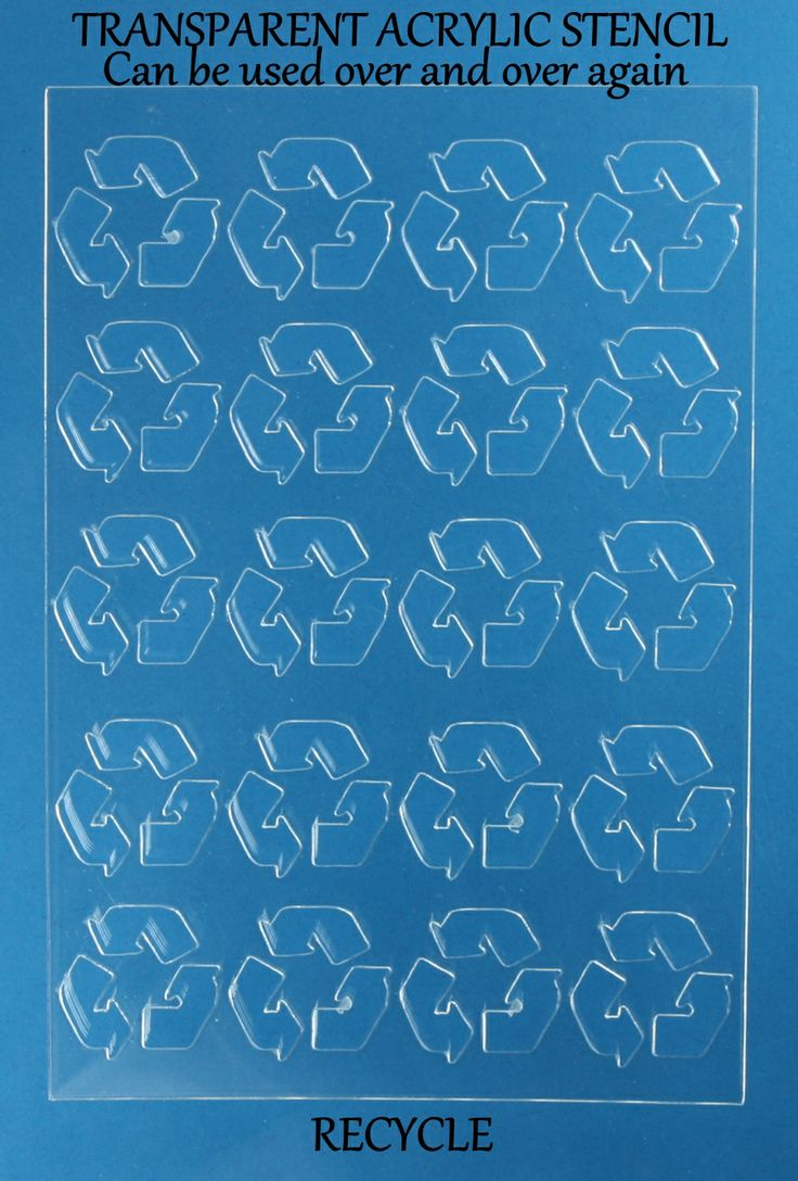 13 best images about want 2 scraps stencils i own on for Recycle stencil printable