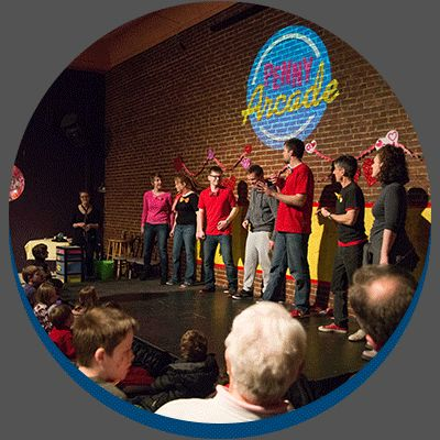 Penny Arcade | Arcade Comedy Theater. Penny Arcade is for kids and families. Regular Arcade is more mature.