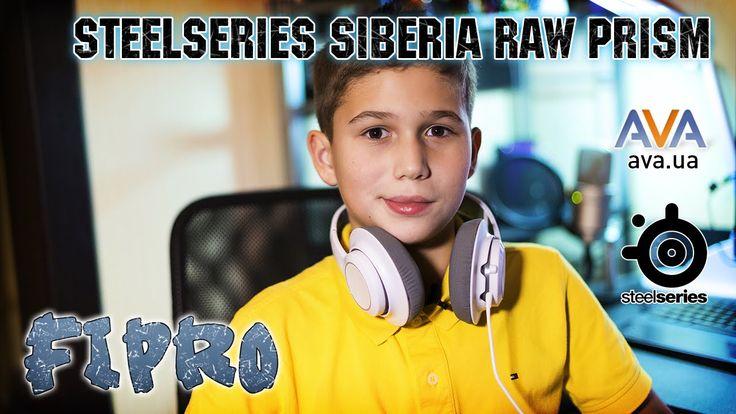 SteelSeries Siberia RAW Prism  https://www.youtube.com/watch?v=OBSSGB0wwzk