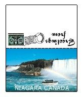 Printable Canada Mini Post Cards. Print these and make SWAPs for Girl Scout Thinking Day. To print all of the countries go to MakingFriends.com