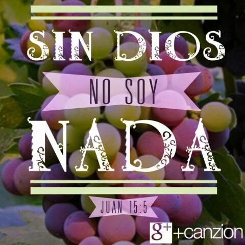 1000 images about verses of the bible in spanish on for Fuera de dios nada somos