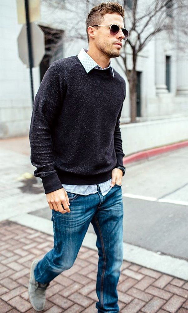 17 best ideas about business casual men on pinterest men for Black shirt business casual