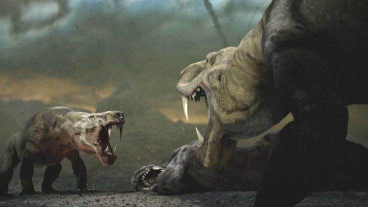 Inostrancevia | From the Discovery Channels Dinosaur ...