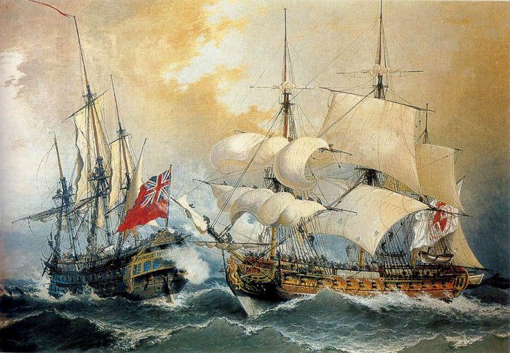 Blas de Lezo captura el navío Stanhope. Más en www.elgrancapitan.org/foro