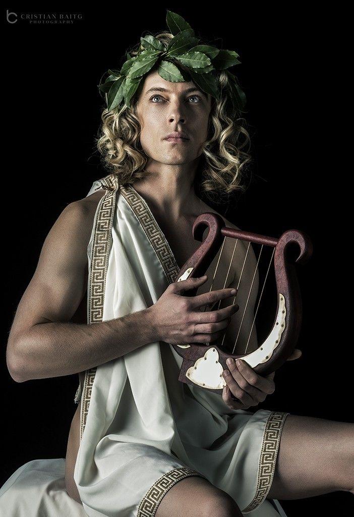 Greek god Apollo the god of light order reason prophecy