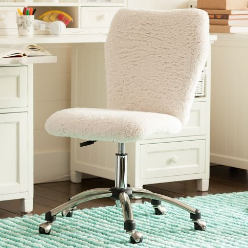 ivory sherpa airgo chair the one she really wants find this pin and more on desk chairs