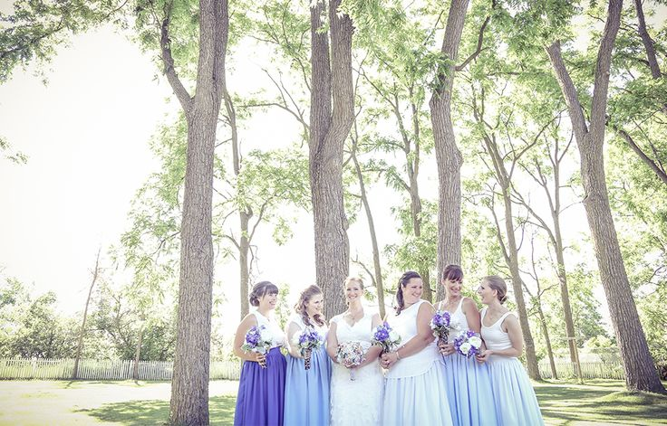 Bride and Bridesmaids | www.newvintagemedia.ca