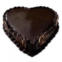 Buy Heart Shape #Truffle #Cakes Online for your dear ones from Online India Cakes at best price.  Order Now:- http://www.onlineindiacakes.com/cakes/heart-shaped-cakes/heart-shape-truffle-cake-1-kg