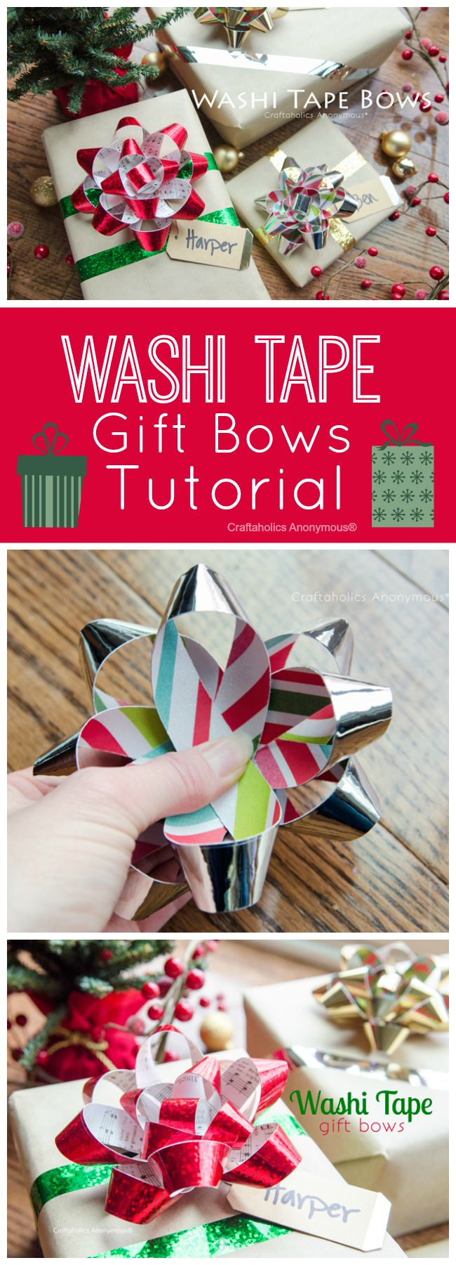 58 best gift wrap images on Pinterest   Gift wrapping, Wrapping ...