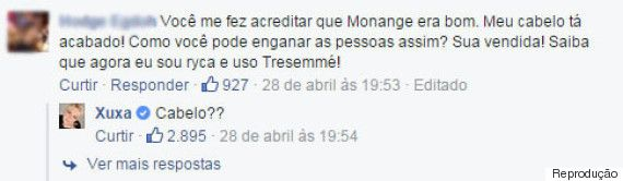 10 respostas em que a Xuxa foi muito sincera no Facebook