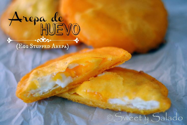 Arepa de Huevo (Egg-Stuffed Arepa)   Hispanic Kitchen