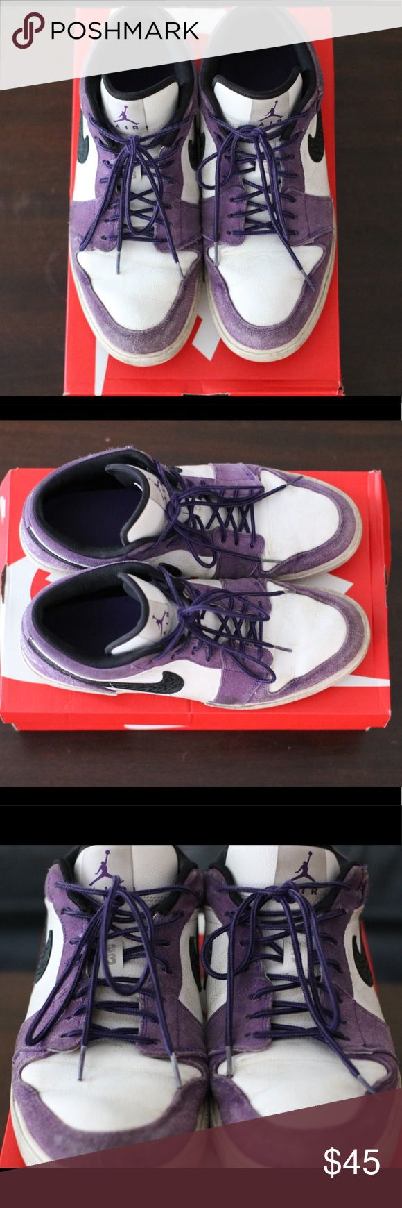 Nike Air Jordan 1 Low Mens Shoe Used shoes. Not worn much. Very comfortable. Nike Shoes Athletic Shoes