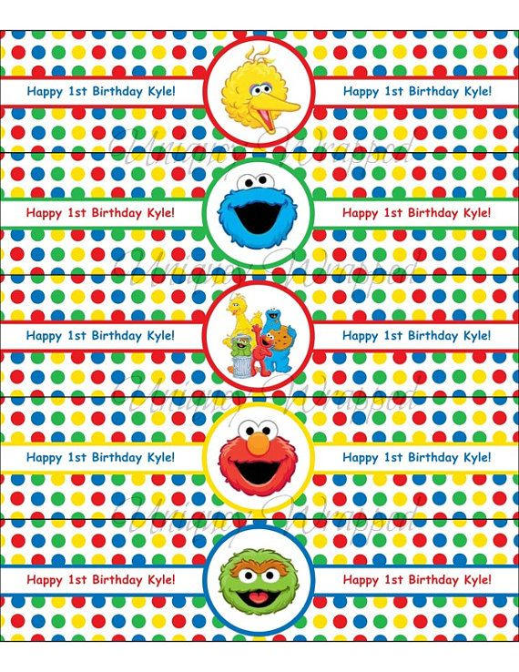 The 25 best big bird sesame street ideas on pinterest sesame personalized waterproof sesame street big bird by uniquelywrapped pronofoot35fo Image collections