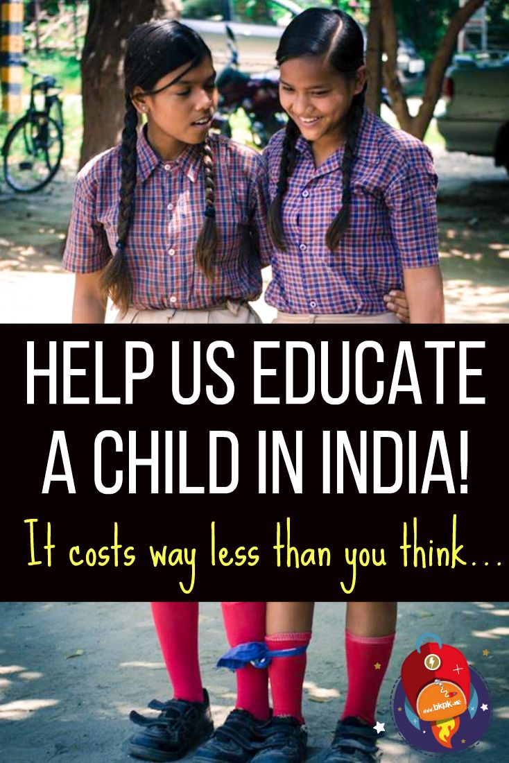 We know a lot of you may want to contribute to good causes to help out kids, but it isn't always easy to identify projects worth your money. We've done our research carefully, and fully endorse this non-profit school in India! :) <3