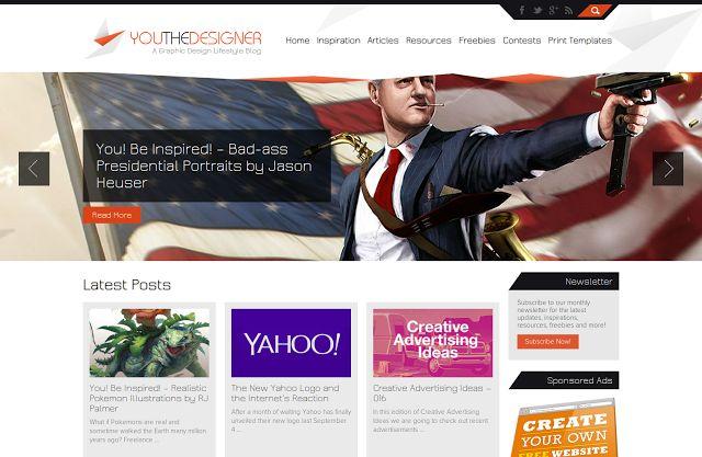 Top 10 Web Design, Tutorials, Inspiration & Development Blogs