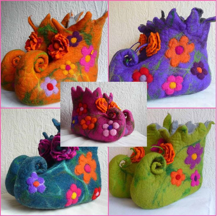 Givaway time! The prize: a pair of custom made felted fairy boots! Felted Art To Wear Giveaway.... Handfelted Fairy Booties..   Krishenka's Vintage Treasures