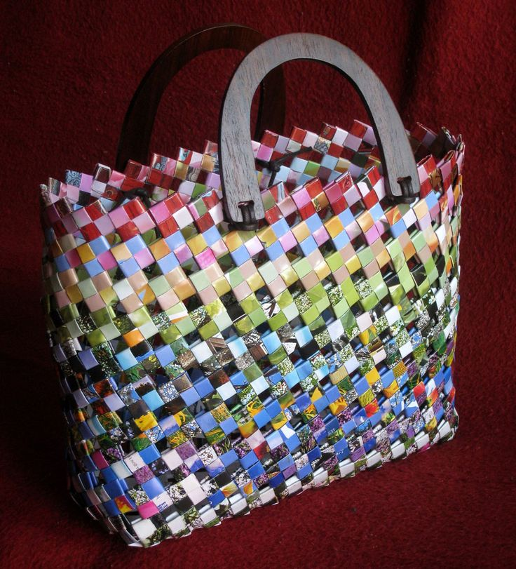Weave Paper Into Wonderful Objects