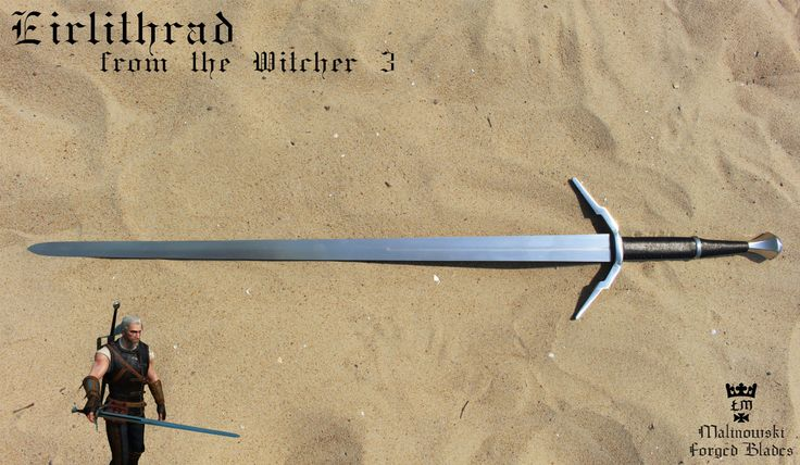 Eirlithrad sword from the Witcher 3