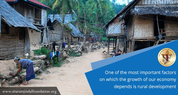 One of the most important factors on which the growth of our economy depends   is rural development  And in this area,  we have pledged to work incessantly and relentlessly, to bring about a difference. Our footprints are to be found  in more than 100 villages. Check out http://www.sitaramjindalfoundation.org/rural-social-development-organisations-in-india.php for details. #SJF #RuralDevelopment