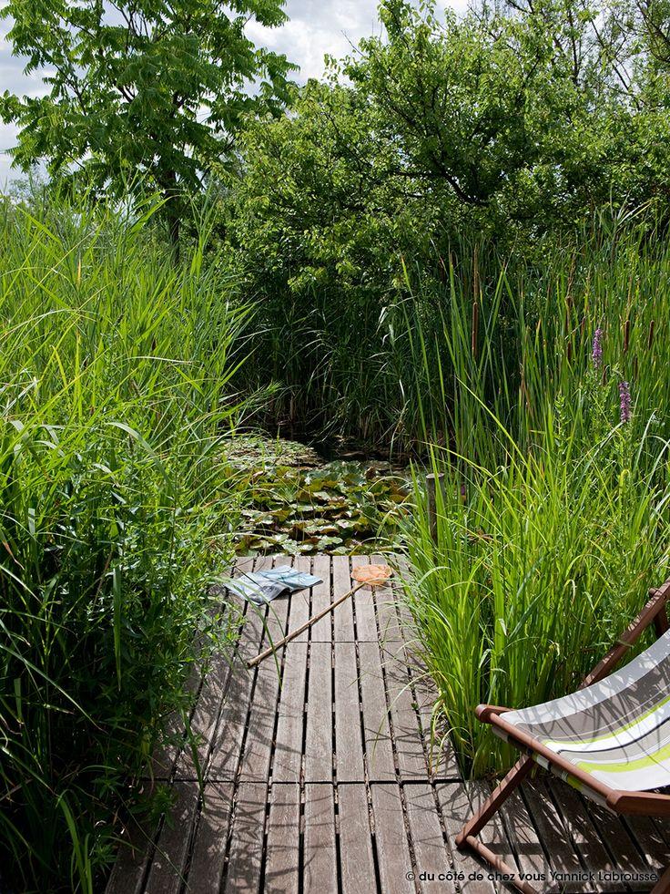 68 best De l\u0027eau dans mon jardin images on Pinterest Landscaping - Jardin Japonais Chez Soi