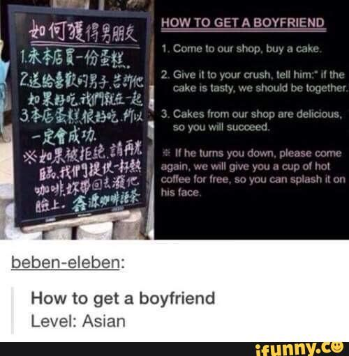 how to get a boyfriend funny