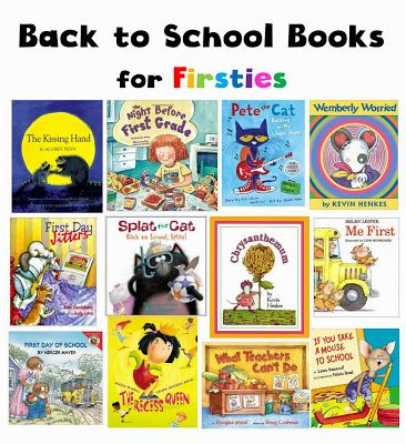 favorite back to school books for first graders