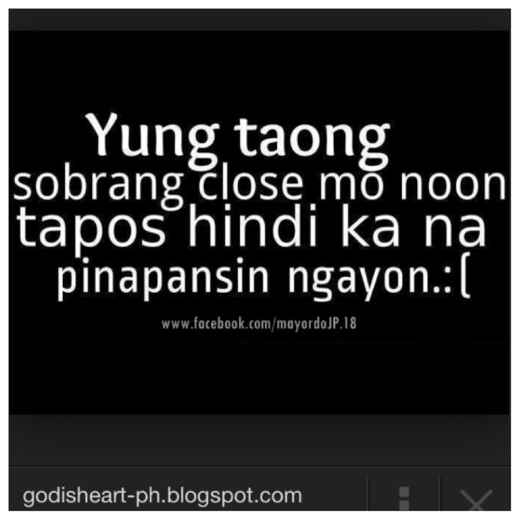 Goodbye High School Quotes Tagalog: 68 Best Images About Tagalog Quotes On Pinterest