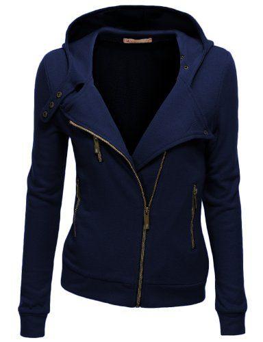 Doublju Womens Fleece Full-Zip Jacket Zip-up Hood Jacket NAVY (US-M) Doublju http://www.amazon.com/dp/B00JLZM116/ref=cm_sw_r_pi_dp_mP0Lub18D3WXZ