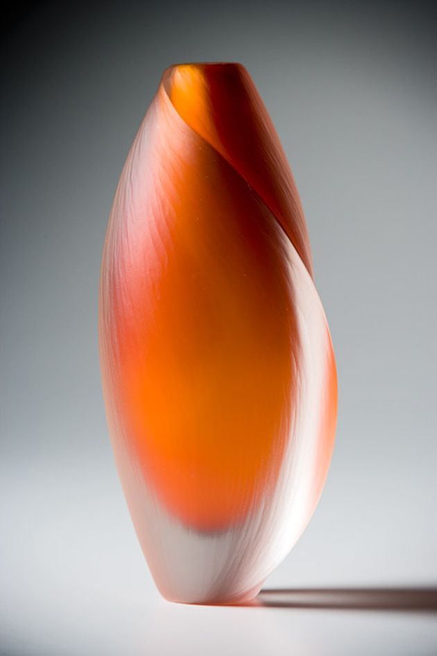 Diffusion Series Blown and cold worked glass - By Mariella McKinley