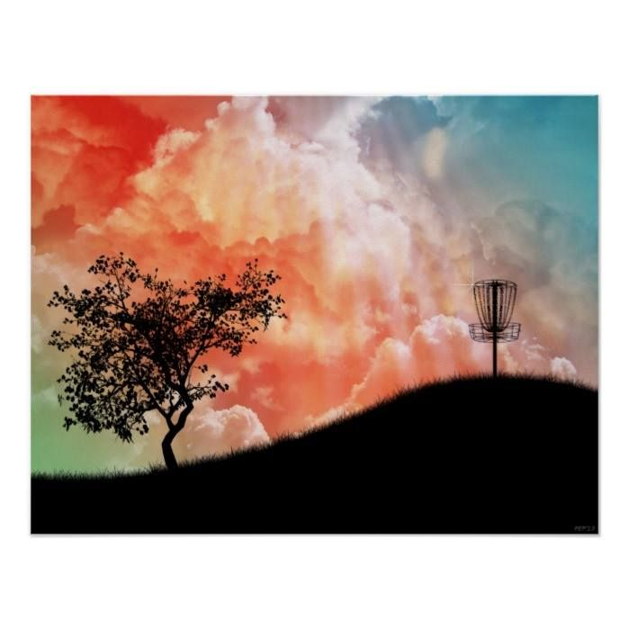 Customizable #Basket #Clouds #Colorful #Competition #Digital #Disc#Golf #Fairway #Flying#Disc #Frisbee#Golf #Frolf #Fun #Game #Graphic#Design #Grass #Nature #Recreation #Sky #Sports #Tree Basket On A Hill Poster available WorldWide on http://bit.ly/2iFr49C
