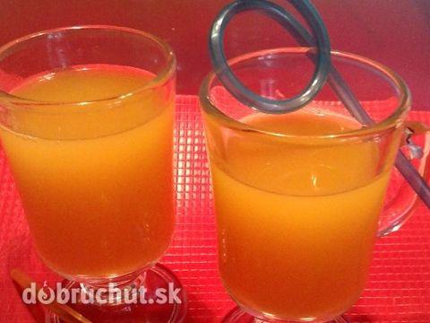 Pomarančovy džús z tlakového hrnca