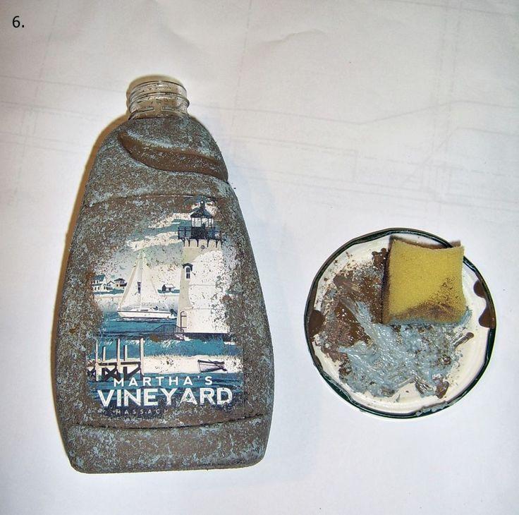 Szappanadagoló házilag. Készítsd magad szappanadagoló. Ne dobd ki ha kifogyott, díszítsd saját ízlésed szerint. Csináld magad. Diy. Festés, akrill, vintage,rusztikus, fürdőszoba.