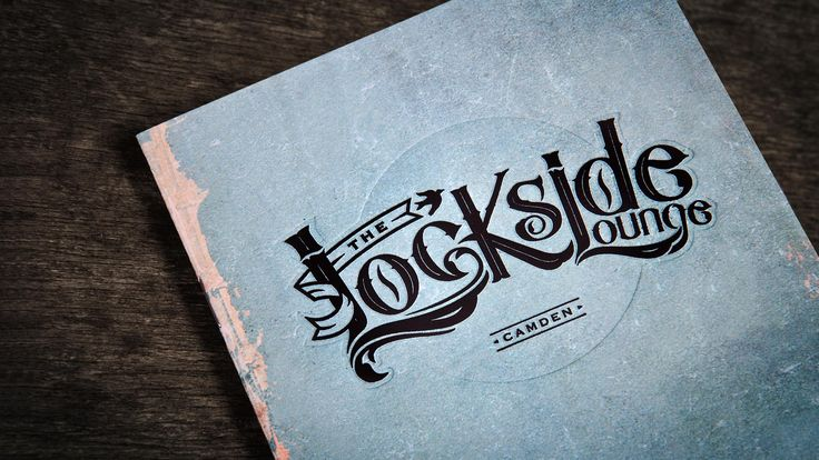 Camden's favourite bar, The Lockside Lounge, asked us for a re-brand with a fresh new look and feel that reflected their industry vs. nature theme. We created a new logo, stationery and cocktail menu that features a foil block, double embossed finish.  Designed by Analogue