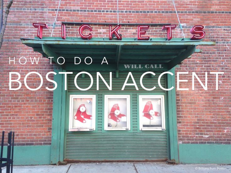 How To Do a Boston Accent // Brittany from Boston