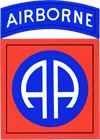 82nd Airborne Division Patch - Michael was in the 82nd Airborne.