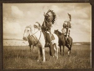 "Blog post: ""Edward S. Curtis and The North American Indian"" by Cheryl Lederle, November 8, 2012. Photograph: Sioux chiefs. Photo by Edward S. Curtis, c1905. Edward S. Curtis Collection, Library of Congress Prints and Photographs Division."