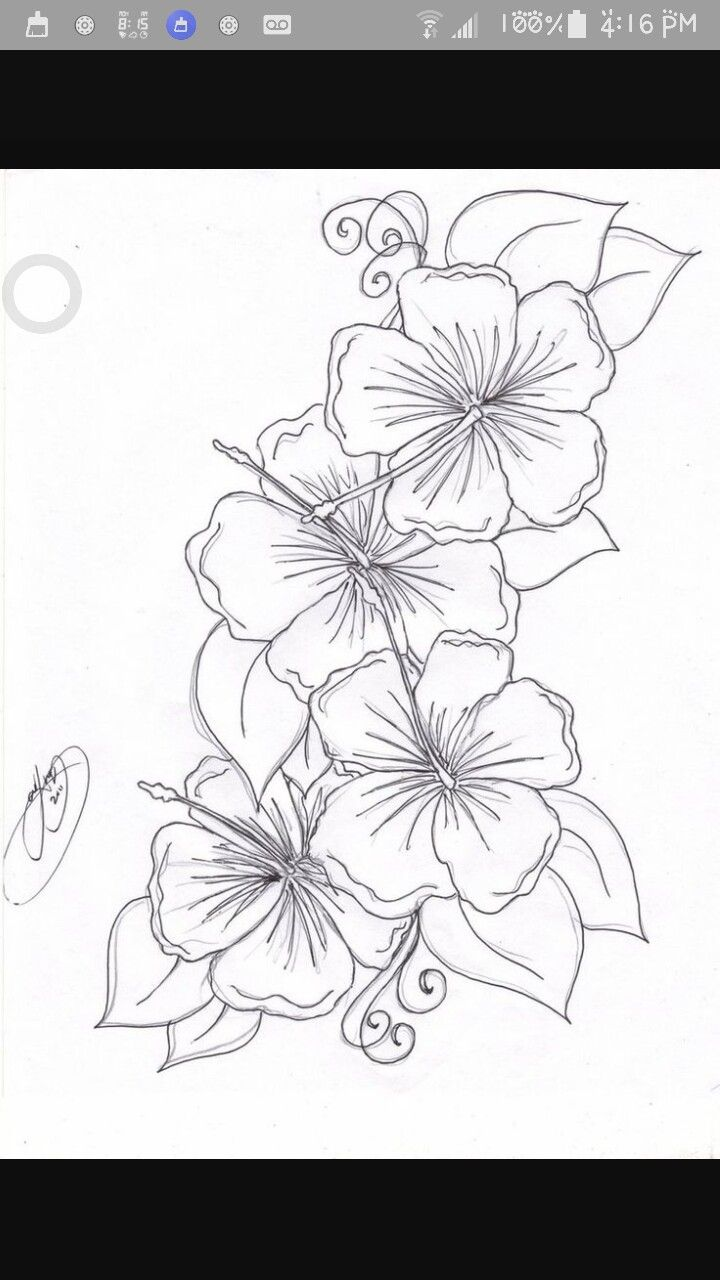 Side Hawaiian Flower Tattoos: Pin By Raelyn Ann On Tattoo Inspo