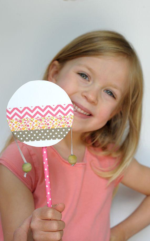 Kids' Parties: DIY Musical Instruments   Julep