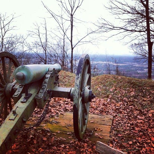 Kennesaw Mountain National Battlefield Park in Kennesaw, Georgia.