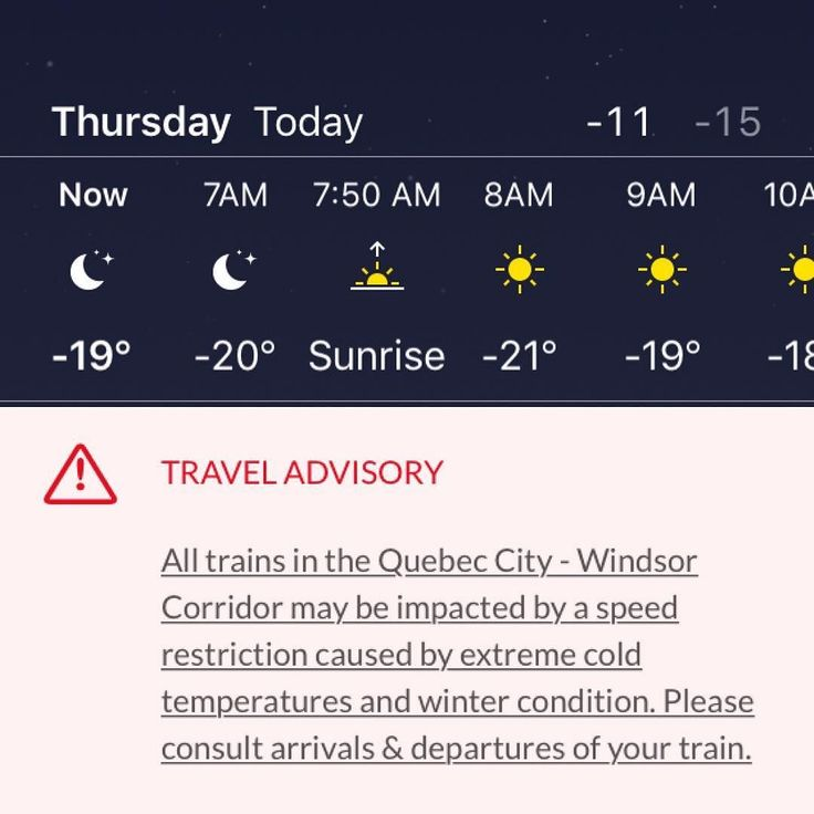 It wouldn't be a classic Canadian Christmas holiday without an extreme weather warning. Bundle up today! How cold is it where you are? . . . . . . #refluffs #yyz #weatherwarning #extremecold #winter #christmas #holidaytrip  #brr #canadianwinter