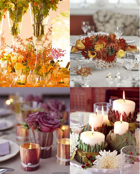 Thanksgiving centerpieces martha stewart