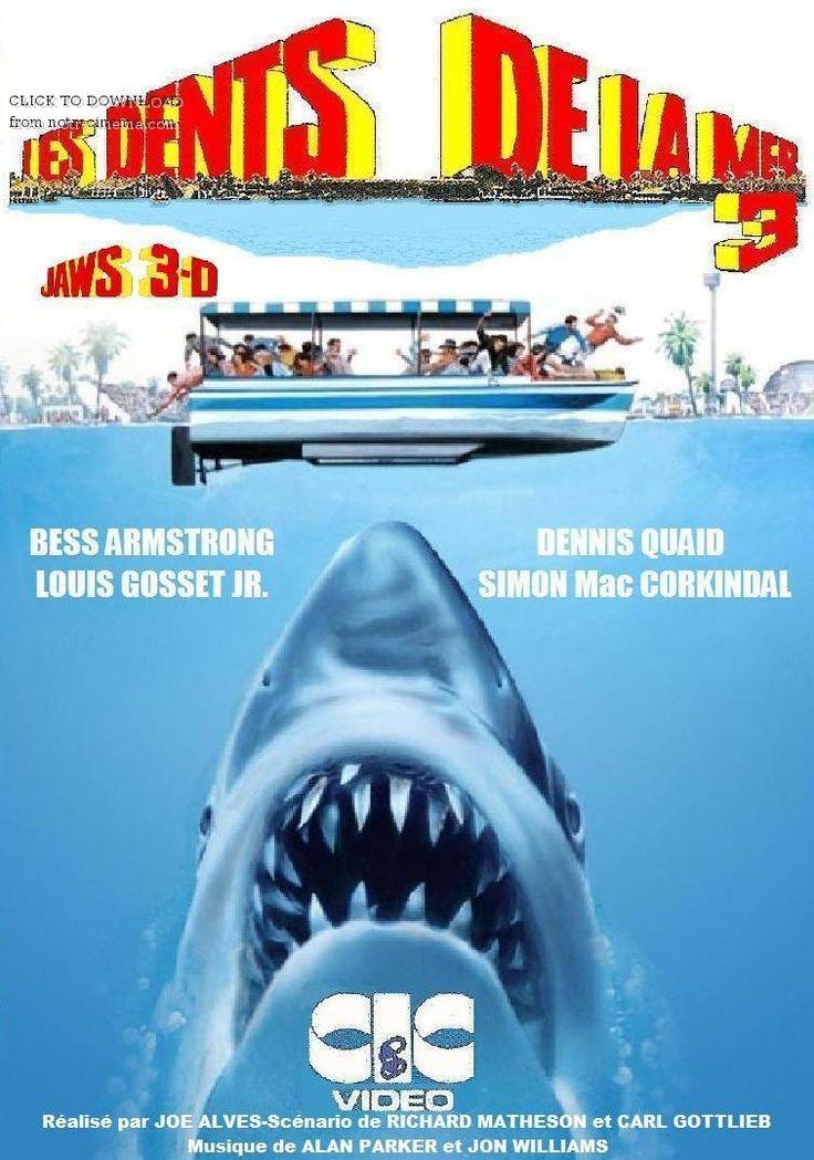 Les Dents de la mer 3 est un film américain réalisé par Joe Alves, sorti en 1983. Michael Brody et Sean Brody, les deux fils du chef de la police Martin Brody de la ville plaisancière d'Amytiville, ont bien grandis. Après que leur père ait affronté deux foix la terreur des mers, le Grand Requin Blanc, une espèce animale mangeuse d'hommes de plus de sept mètres de long, ils se sont installés en Floride où ils travaillent pour un célèbre parc aquatique englouti dans la mer...