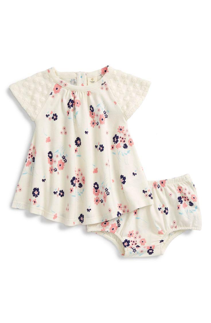 Main Image - Tucker + Tate Floral Print Dress (Baby Girls)