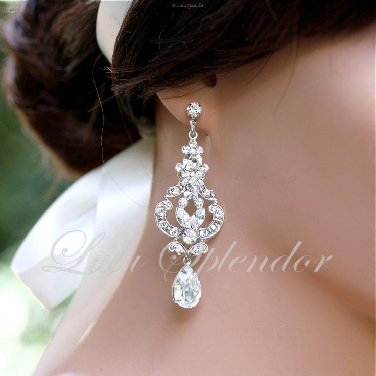 17 Best images about Earrings – Wedding Earrings Chandelier