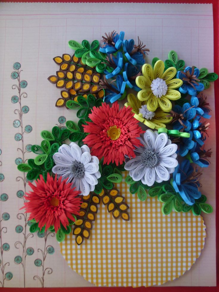this is my hand work quilling art by bmiletic