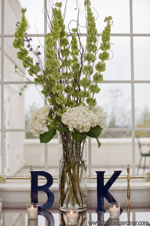 reception wedding flowers,  wedding decor, wedding flower centerpiece, wedding flower arrangement, add pic source on comment and we will update it. www.myfloweraffair.com can create this beautiful wedding flower look.     Belmont Country Club from Dogwood Events and Kristen Gardner Photography.