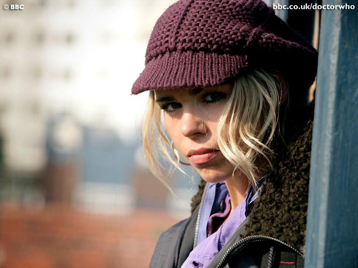 the plucky Rose Tyler, Doctor Who (Billie Piper)