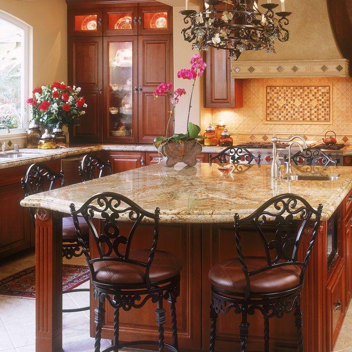 golden crystal natural stone granite slab arizona tile - Stone Slab Dining Room Decorating